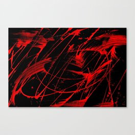 Whipped Into Motion 1 Canvas Print