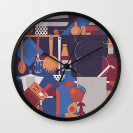 The Kitchen Wall Clock