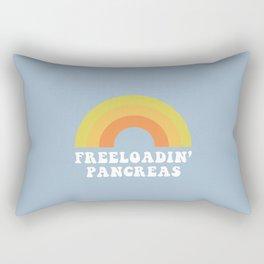 Freeloadin' Pancreas Rectangular Pillow