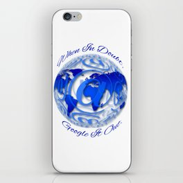 When In Doubt, Google it out. iPhone Skin