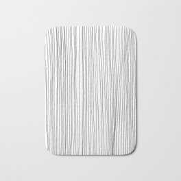 LINE - Poetry of the Pen Series by Cooper and Colleen Bath Mat