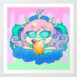 follo 4 more ~*pastel goth*~ Art Print