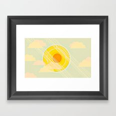 summer is here Framed Art Print