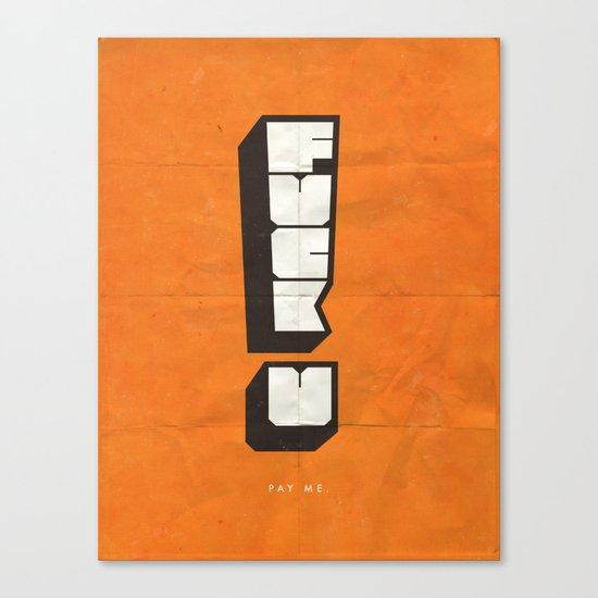 FUPM Canvas Print