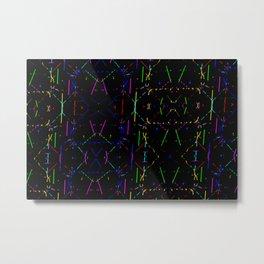 Colorandblack serie 240 Metal Print