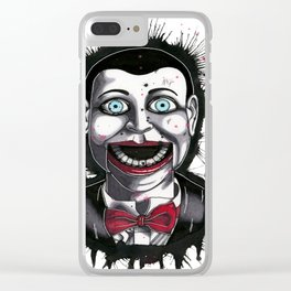 The Horror of Billy the Doll Clear iPhone Case