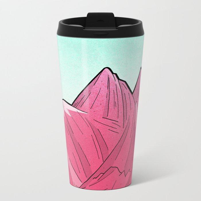 A Winters Morning Metal Travel Mug