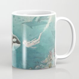 Underwater Love at First Sight Coffee Mug