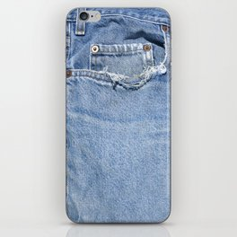 Old Jeans iPhone Skin