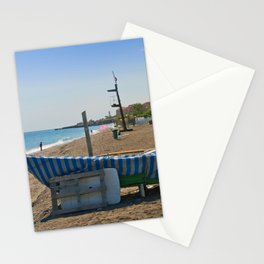 Fishing boats Playa del Penoncillo Torrox Costa Spain Stationery Cards