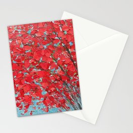 Highlands Red Maple Stationery Cards