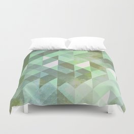 Sacred Cove Walls Duvet Cover