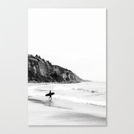 Surfer heads out II Canvas Print