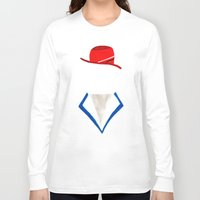 agent carter Long Sleeve T-shirts featuring Agent by Sebastian DeTemple