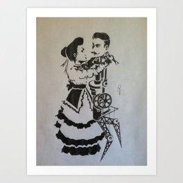 Victorian Tinkerer Art Print