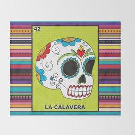 La Calavera Throw Blanket
