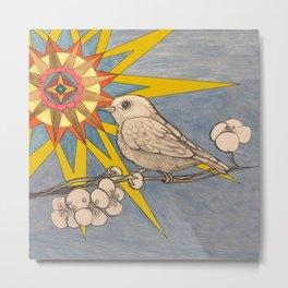sunbird Metal Print