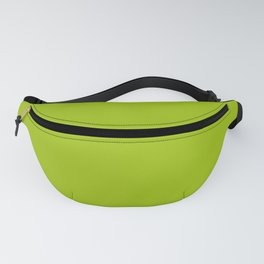 Bright Pistachio Nut Green Trendy Fashion Solid Color Fanny Pack