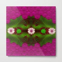 Meadow of florals Metal Print