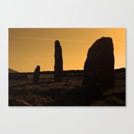 Ancient Monument Canvas Print