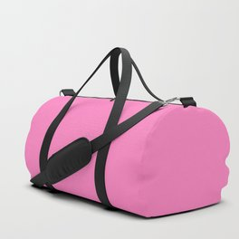 Bright Solid Retro Pink - Color Therapy Duffle Bag