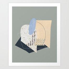 Hurdles Art Print