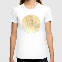 shameless T-shirts featuring Selfie #Shameless - Outline by Justin Wolter