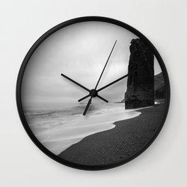 Pillar At Sea Wall Clock