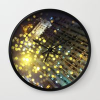 moscow Wall Clocks featuring moscow by xp4nder