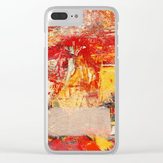 Irrational Animal Clear iPhone Case