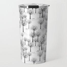 Winter Forest - Bunnies and Hound / by Friztin Travel Mug