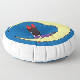 We Fly With Our Spirit. Floor Pillow