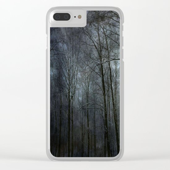 """forest """""""" Clear iPhone Case"""