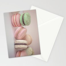 Blush Macarons Stationery Cards
