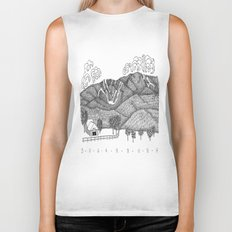 Zentangle Sugarbush, Vermont Biker Tank