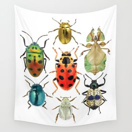 Beetle Compilation Wall Tapestry