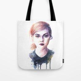 Elle Fanning Tote Bag