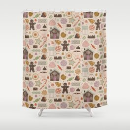 In the Land of Sweets Shower Curtain