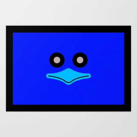 Mr. Duck in Balut Art Print