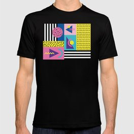 Memphis pattern 53 - 80s / 90s Retro T-shirt