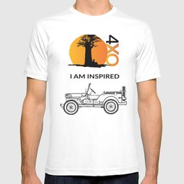 I AM INSPIRED JEEP CJ T-shirt