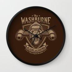 The Washburne Flight Academy Wall Clock