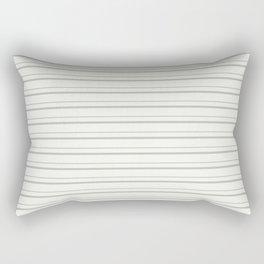 Benjamin Moore 2019 Color of the Year 2019 Metropolitan Light Gray on Snowfall White 2144-70 Rectangular Pillow