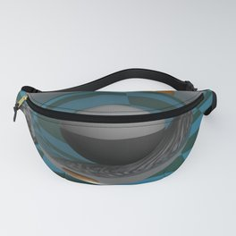Magnifying Glass POV Ray Tracing Fanny Pack