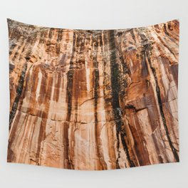 The red dust and the burnt cliffs Wall Tapestry