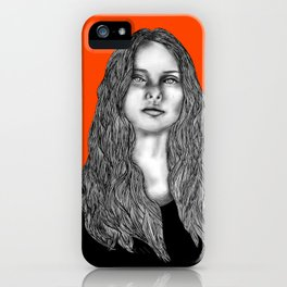 """That's Why her Hair Is So Big, It's Full of Secrets"" iPhone Case"