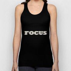 Focus Unisex Tank Top
