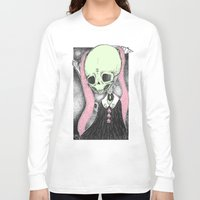 loll3 Long Sleeve T-shirts featuring Death (Tarot Cards Series 2014) by lOll3