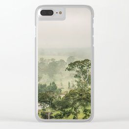 Mist Valley Clear iPhone Case