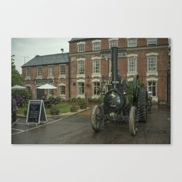Pub Traction Canvas Print